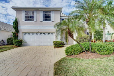 Palm Beach Gardens FL Single Family Home Sold: $410,000