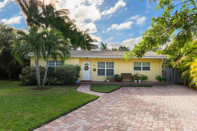 Boca Raton Single Family Home For Sale: 1495 NE 4th Avenue