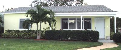 Lake Worth Single Family Home For Sale: 515 18th Ave N
