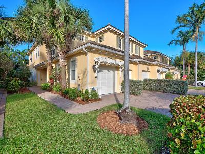 Palm Beach Gardens Townhouse For Sale: 4667 Cadiz Circle