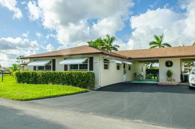Delray Beach Single Family Home For Sale: 554 Sandpiper Circle