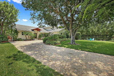 Broward County, Palm Beach County Single Family Home For Sale: 23 Hudson Avenue