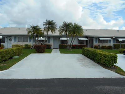 West Palm Beach Single Family Home For Sale: 3408 Theo Way