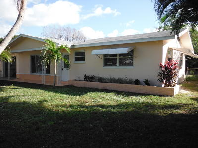 Jupiter Single Family Home For Sale: 402 Pittsburgh Drive