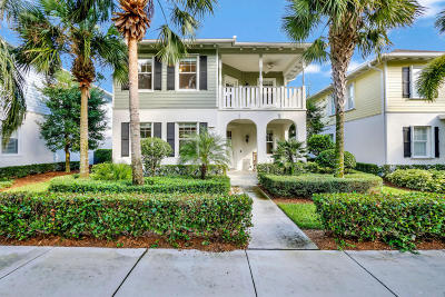 Jupiter Single Family Home For Sale: 2621 W Community Drive