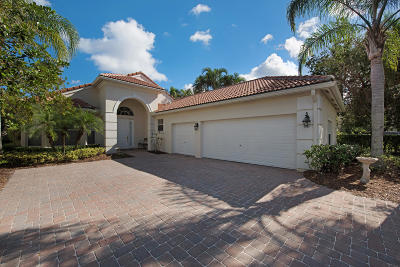 West Palm Beach Single Family Home For Sale: 8161 Cypress Point Road