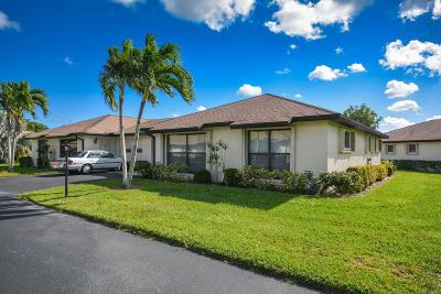 Boynton Beach Single Family Home For Sale: 4821 Equestrian Way B