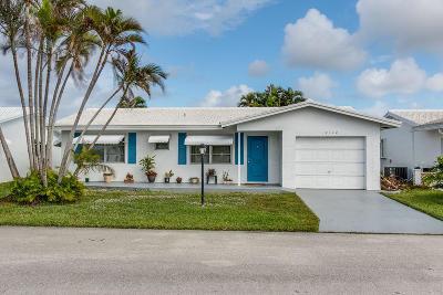 Boynton Beach Single Family Home For Sale: 2112 SW 22nd Court