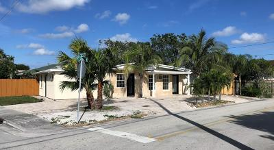 Lake Worth Single Family Home For Sale: 512 16th Avenue