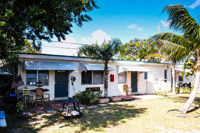 Lake Worth Multi Family Home For Sale: 1031 E Street