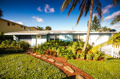 Lake Worth Single Family Home For Sale: 212 18th Avenue S