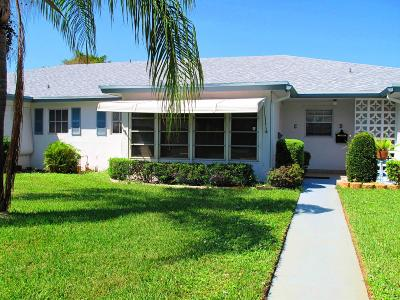 Delray Beach Single Family Home For Sale: 1180 S Drive Circle #C