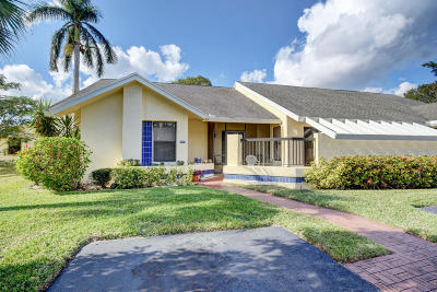 Boca Raton Single Family Home For Sale: 10879 Lake Front Place
