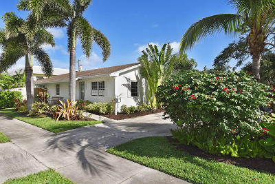 Delray Beach Single Family Home For Sale: 1001 NE 2nd Avenue