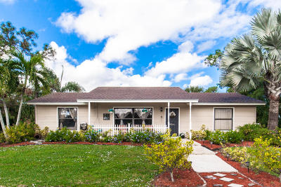 West Palm Beach Single Family Home For Sale: 11097 Tangerine Boulevard
