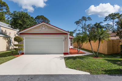 West Palm Beach Single Family Home For Sale: 1388 Blue Clover Lane