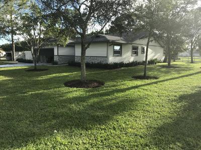 Palm Beach Gardens Single Family Home For Sale: 4612 Lillian Avenue
