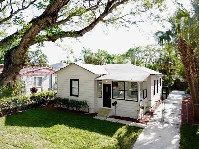 West Palm Beach Single Family Home For Sale: 430 48th Street