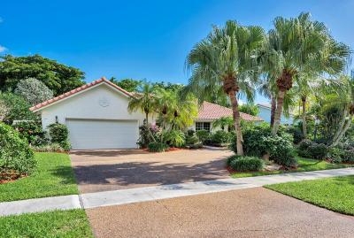 Boca Raton Single Family Home For Sale: 2934 Banyan Blvd Cir NW