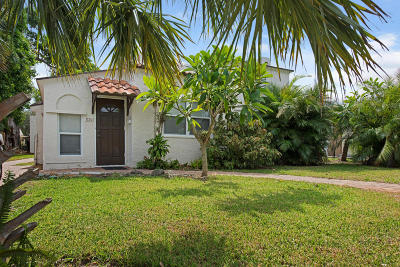 West Palm Beach Multi Family Home For Sale: 830 Valley Forge