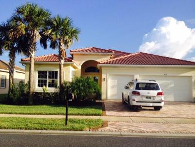 Boynton Beach Single Family Home For Sale: 9850 Bluefield Drive