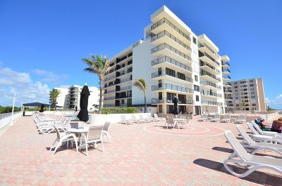 Palm Beach Condo For Sale: 3456 S Ocean Boulevard # 707