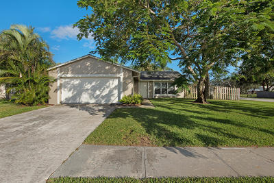 Jupiter Single Family Home Contingent: 111 Chadwick Drive