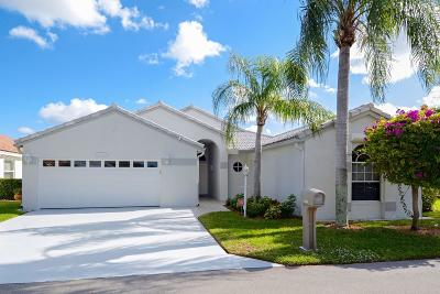 West Palm Beach Single Family Home For Sale: 4350 Camrose Lane