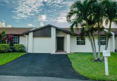 Delray Beach Single Family Home For Sale: 15520 Bottlebrush Circle