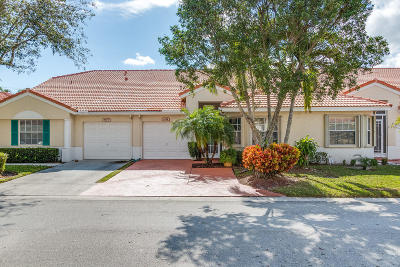 Delray Beach Single Family Home For Sale: 6174 Lake Hibiscus Drive