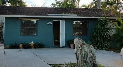 Lake Worth Single Family Home For Sale: 4988 Canton Road