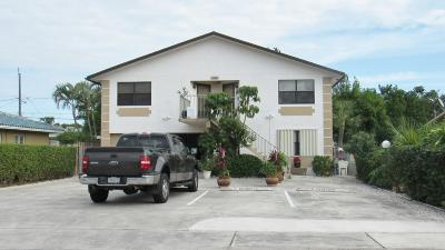 Lake Worth Multi Family Home For Sale: 324 Ocean Breeze #1, 2 And