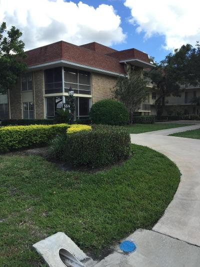 Palm Beach Gardens Condo For Sale: 5510 Tamberlane Circle #244