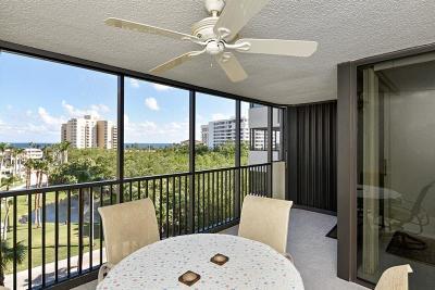 Highland Beach Condo For Sale: 3420 S Ocean Boulevard #6o