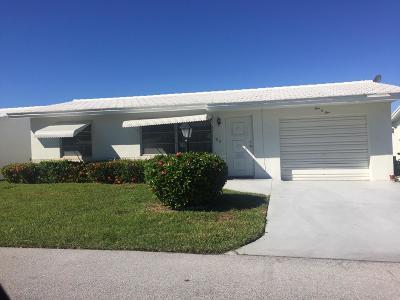 Boynton Beach Single Family Home For Sale: 105 SW 8th Place
