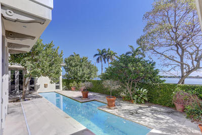 West Palm Beach Single Family Home Contingent: 5501 S Flagler Drive