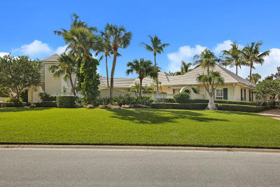 North Palm Beach Single Family Home For Sale: 732 Village Road