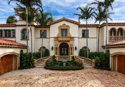 Palm Beach Single Family Home For Sale: 120 Clarendon Avenue