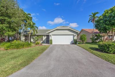 Boca Raton Single Family Home For Sale: 7883 Cloverfield Circle