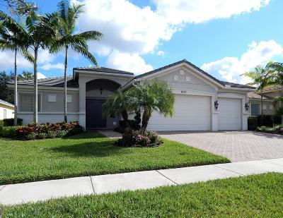 Royal Palm Beach Single Family Home For Sale: 8357 Butler Greenwood Drive