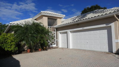 Boynton Beach Single Family Home For Sale: 6319 Crystal View Lane