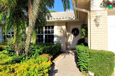Boca Raton Single Family Home Contingent: 7764 Cloverfield Circle