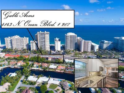 Fort Lauderdale Condo For Sale: 4143 Ocean Boulevard #207
