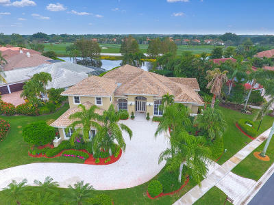 West Palm Beach Single Family Home For Sale: 10850 Egret Pointe Lane