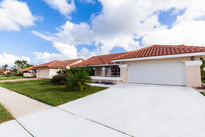 Boynton Beach Single Family Home For Sale: 9533 El Clair Ranch Road