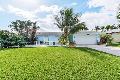 Tequesta Single Family Home For Sale: 3280 Cove Road