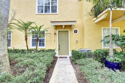 Jupiter Townhouse For Sale: 115 Apalachee Lane