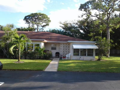 Delray Beach Single Family Home For Sale: 5040 NW 3rd Street #C