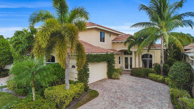 Palm Beach Gardens Single Family Home For Sale: 308 Porto Vecchio Way