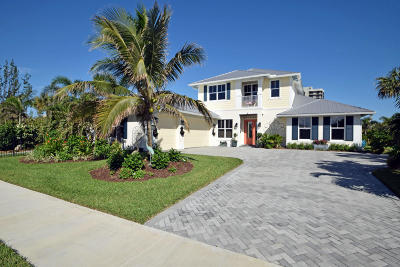 Hutchinson Island Single Family Home For Sale: 3928 Duneside Drive